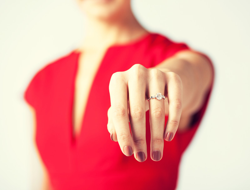 who gets the engagement ring after divorce