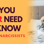 All You Ever Need To Know About Narcissists