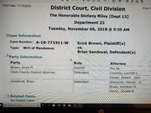 Clark County District Court Judge ONLY worked 14 afternoons in 2018! 2