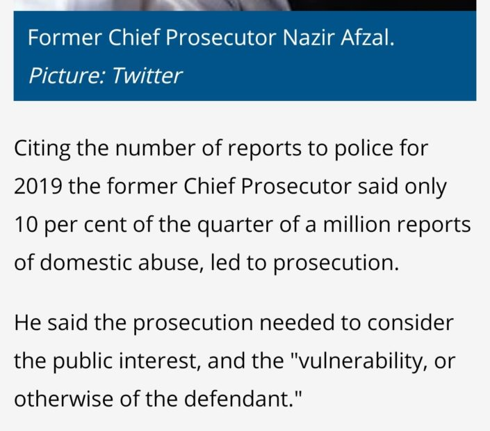 domestic abuse prosecutions