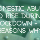 Domestic Abuse To Rise During Lockdown