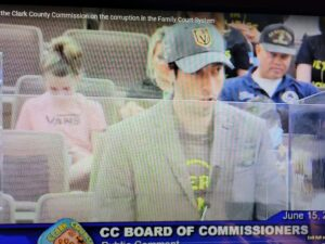 Family Court Litigants tell tails of horror to Clark County Commissioners!