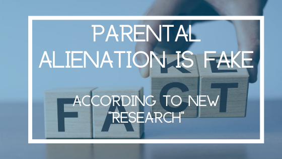 """Damning New """"Research"""" into Parental Alienation"""