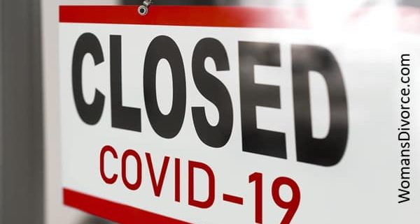Closed due to Covid-19 sign